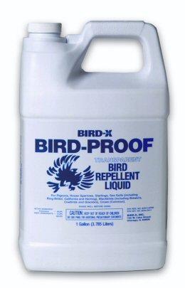 bird proof bird repellent liquid 1 us gallon 3 8 litres