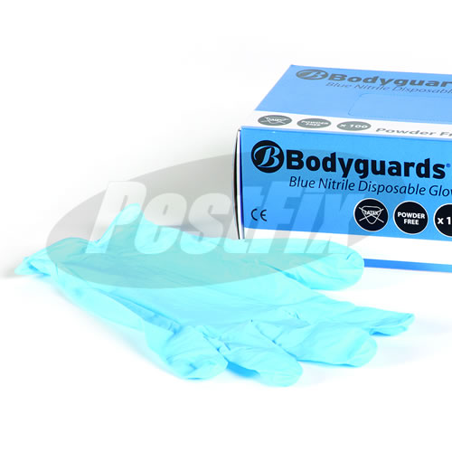 Nitrile Powder Free Disposable Gloves