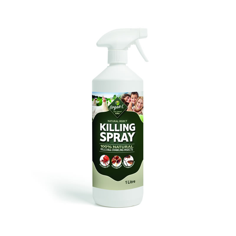 Organ-X Natural Bed Bug Killing Spray