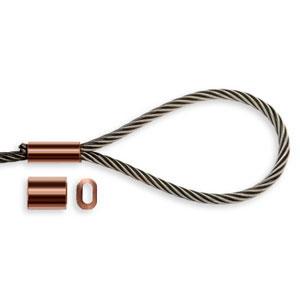 Copper Ferrules DIN 2.5 100 pack