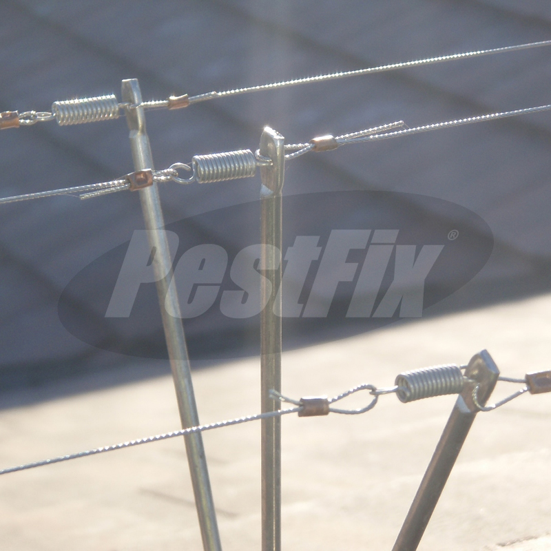 Pigeon Post and Wire Kit For Triangular Ridge Tiles