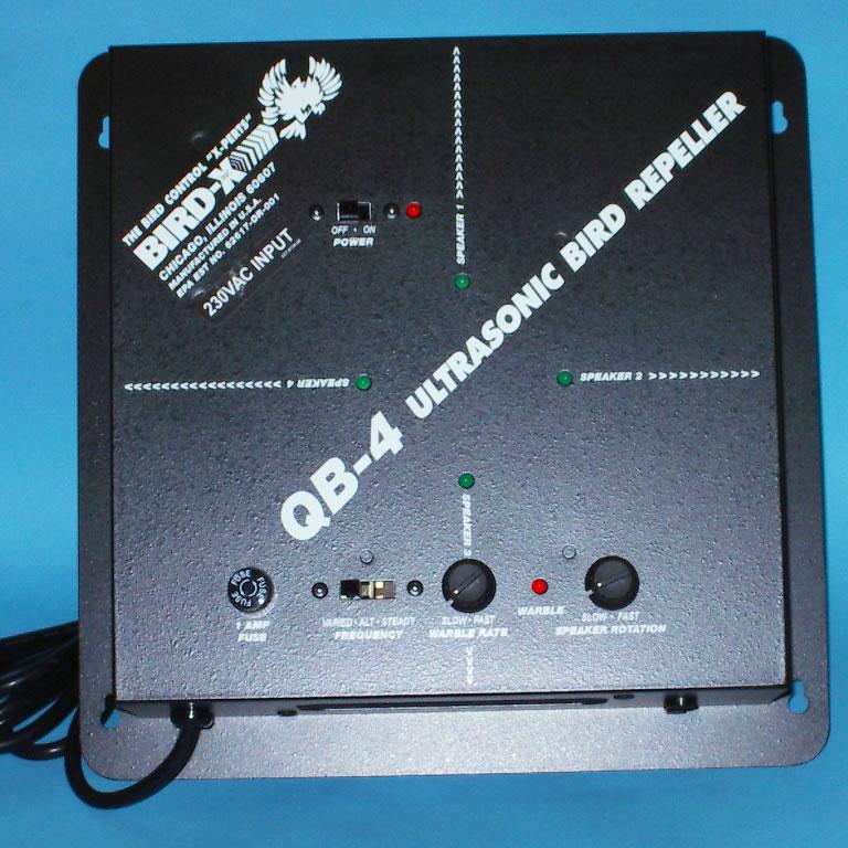 Quadblaster 4-channel Indoor Ultrasonic Repeller