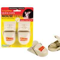 Quick Click Mouse Trap - Twin Pack