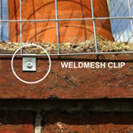 Weldmesh Clips Galvanised