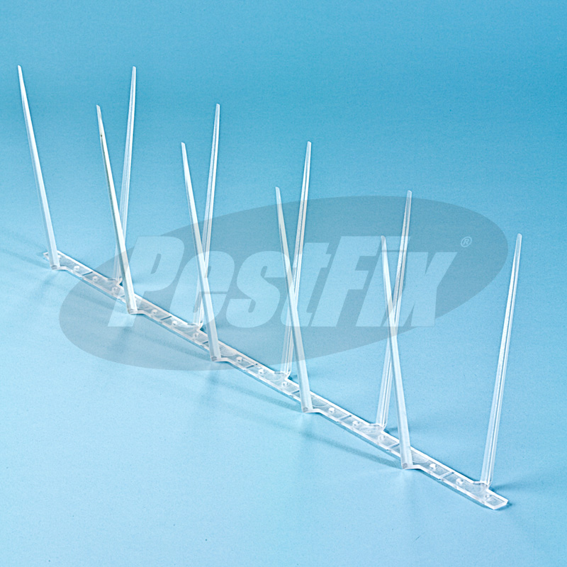 Defender 4 Narrow Polycarbonate Pigeon Spikes Per Metre