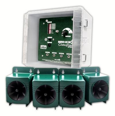 Critter Blaster Pro 4 Speaker Electronic Pest Repeller
