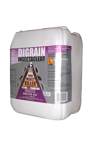 Digrain Insectaclear C Bed Bug Killer Room Treatment