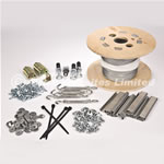 50mm Pigeon Netting Fixing Kit For Cladding - Standard