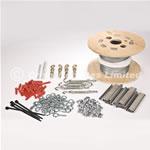 28mm Starling Netting Fixing Kit For Masonry - Standard