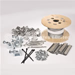 50mm Pigeon Netting Fixing Kit For 14-20mm Steelwork - Standard