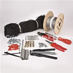 75mm Seagull Netting Kit Complete For Masonry 10m x 10m