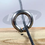 50mm Pigeon Netting Fixing Kit For Timber - Standard
