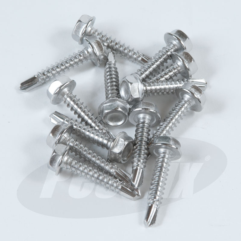 Self Drilling Screws - Hex Head
