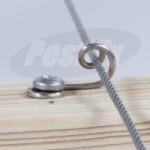 Net Guides De-Mountable Stainless Steel Intermediate Fixing