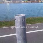Non-Piercing Adjustable Ridge Mount 1m and 2m - Galvanised Steel