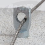 Net Spike Hammer-In Masonry Intermediate Fixing Galvanised