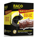 RACO Broma Grain Rat and Mouse Killer 100g Sachets X 5
