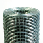 Weldmesh 25mm X 25mm 15G Galvanised Steel Mesh Rolls